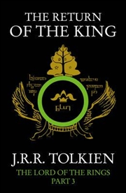 The Return of the King Lord of the Rings - Part 3 | Paperback Book