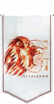 Harry Potter - Gryffindor Watercolour Satin Banner