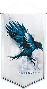 Harry Potter - Ravenclaw Watercolour Satin Banner