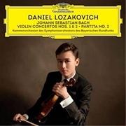 J.S. Bach - Violin Concertos No. 2 And No. 1 / Partita No. 2   CD