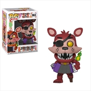 Five Nights at Freddy's: Pizza Sim - Rockstar Foxy Pop! Vinyl | Pop Vinyl
