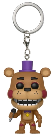 Five Nights at Freddy's: Pizza Sim - Rockstar Freddy Pocket Pop! Keychain | Pop Vinyl