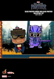 Black Panther - Movbi & Black Panther Cosbaby Set