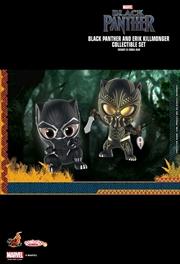 Black Panther - Black Panther & Killmonger Cosbaby Set