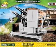 World War II - 140 piece 2cm Flakvierling 38
