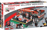 McLaren - 1000 Piece F1 McLaren Racing Car and Garage Construction Set | Miscellaneous