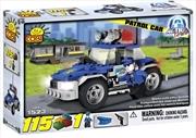Action Town - 115 Piece Police Patrol Car Construction Set | Miscellaneous
