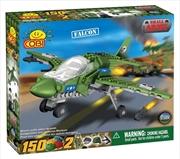 Small Army - 150 Piece Falcon Plane Military Aircraft Construction Set | Miscellaneous