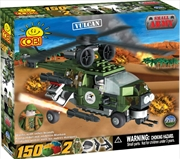 Small Army - 150 Piece Vulcan Military Helicopter Construction Set | Miscellaneous