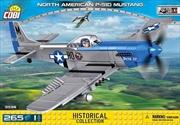 World War II - 265 piece North American P-51D Mustang
