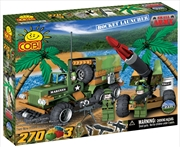 Small Army - 270 Piece Rocket Launcher Military Vehicles Construction Set | Miscellaneous