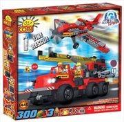Action Town - 300 Piece Fire Rescue Construction Set | Miscellaneous