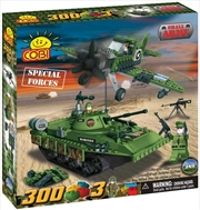 Small Army - 300 Piece Special Forces Military Units Construction Set | Miscellaneous