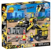 Action Town - 330 Piece Construction Backhoe Loader Construction Set | Miscellaneous