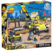 Action Town - 330 Piece Construction Crane and Forklift Construction Set | Miscellaneous
