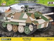 World War II - 420 piece Jagdpanzer 38 Hetzer