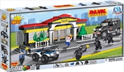 Action Town - 500 Piece Bank Robbery Construction Set | Miscellaneous