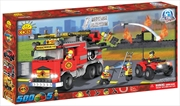 Action Town - 500 Piece Fire Rescue Brigade Construction Set | Miscellaneous