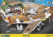 World War II - 500 piece Messerschmitt BF 109 African Mission | Miscellaneous