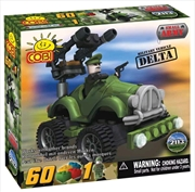 Small Army - 60 Piece Delta Military Vehicle Construction Set