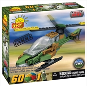Small Army - 60 Piece Gamma Military Helicopter Construction Set