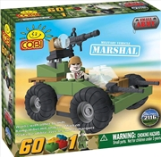 Small Army - 60 Piece Marshal Military Vehicle Construction Set