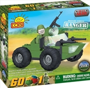 Small Army - 60 Piece Ranger Military Vehicle Construction Set