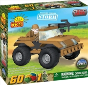 Small Army - 60 Piece Storm Military Vehicle Construction Set