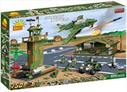 Small Army - 750 Piece Military Airfield Construction Set