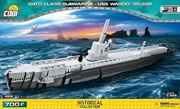 World War II - 670 piece Gato Class Submarine USS Wahoo /SS-238 | Miscellaneous