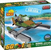 Small Army - 60 Piece Shark Military Vehicle Construction Set