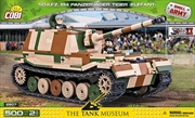 Small Army - 500 piece Sd.Kfz.184 Panzerjager Tiger (Elefant)