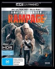 Rampage | Blu-ray + UHD