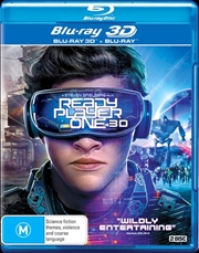 Ready Player One | 3D + 2D Blu-ray