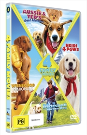 Aussie & Ted's Great Adventure/Wiener Dog Nationals/Marshall The Miracle Dog/Heidi 4 Paws | DVD