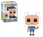 Pop! Television - Adventure Time Minecraft - Finn