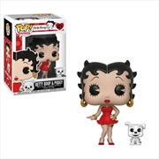 Betty Boop - Betty with Pudgy Pop! Vinyl