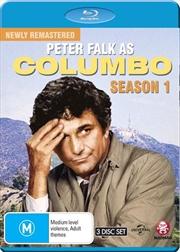 Columbo - Season 1 - Remastered | Blu-ray