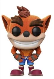 Crash Bandicoot - Crash Bandicoot Flocked US Exclusive Pop! Vinyl
