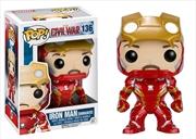 Captain America 3: Civil War - Iron Man Unmasked US Exclusive Pop! Vinyl | Pop Vinyl