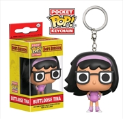 Bob's Burgers - Buttloose Tina US Exclusive Pocket Pop! Keychain | Pop Vinyl
