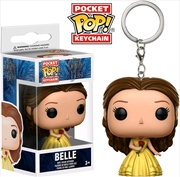 Beauty and the Beast (2017) - Belle Pocket Pop! Keychain