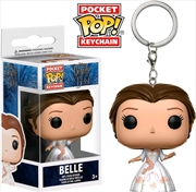 Beauty and the Beast (2017) - Belle (Celebration) Pocket Pop! Keychain | Pop Vinyl