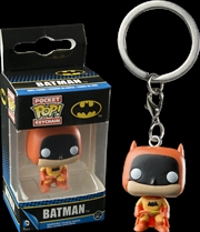 Batman - 75th Anniversary Orange US Exclusive Pocket Pop! Keychain | Pop Vinyl