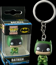 Batman - 75th Anniversary Green US Exclusive Pocket Pop! Keychain