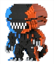 Alien - Xenomorph Orange & Blue 8-Bit US Exclusive Pop! Vinyl