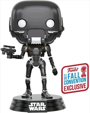 Star Wars: Rogue One - K-2SO with Blaster Battle Damaged NYCC 2017 US Exclusive Pop! Vinyl