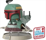 Star Wars - Boba Fett with Slave One NYCC 2017 US Exclusive Pop! Deluxe | Pop Vinyl