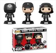 Star Wars - Death Star Gunner, Officer & Trooper US Exclusive Pop! Vinyl 3-pack | Pop Vinyl