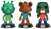 Star Wars - Cantina Greedo / Hammerhead / Walrus Man US Exclusive Pop! Vinyl 3-Pack | Pop Vinyl